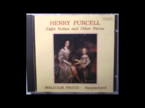 Henry Purcell - Sefauchi's Farewell - Z 656 Harpsichord - Malcolm Proud