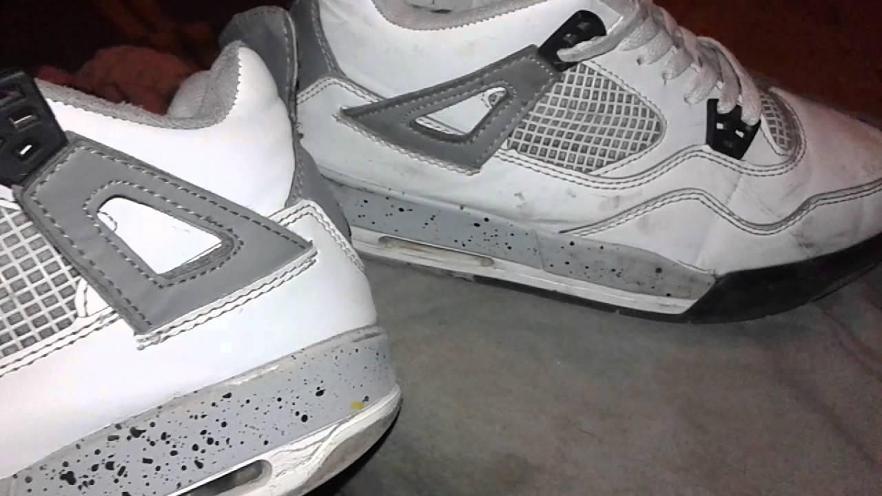 Como Lavar Unos Tenis JordanRetro 4 Amp Retro 13