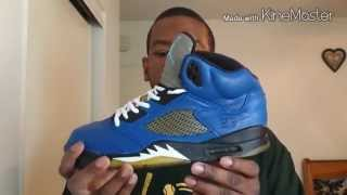 Custom Closet: Air Jordan V (5) Blue Magic + On Feet