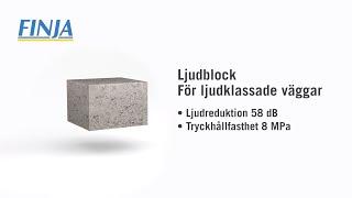 Ljudblock - för ljudklassade väggar