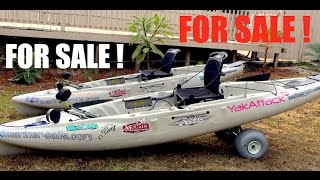 for sale 2 2016 hobie outbacks ty theresa s 2016 kayaks