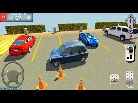 1990 Model Eski Taxi Araba Oyunu // Bus & Taxi Driving Simulator #4 - Best Android GamePlay