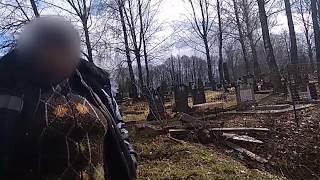 Черняховск, старое кладбище