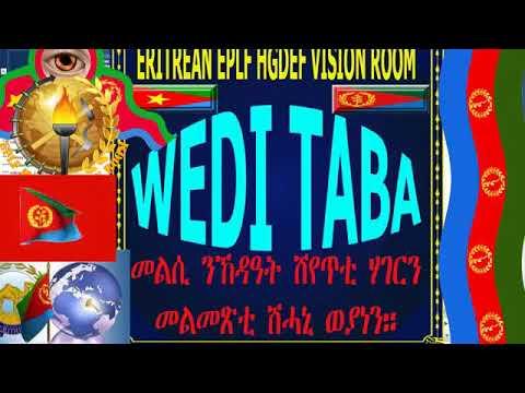 Eritrean New Special Program WEDI TABA ጥፍኣት ወያነ The Fall of Wayane