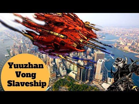 A Ship the SIZE of MANHATTAN - Yuuzhan Vong Slaveship - Star Wars Capital Ships Explained