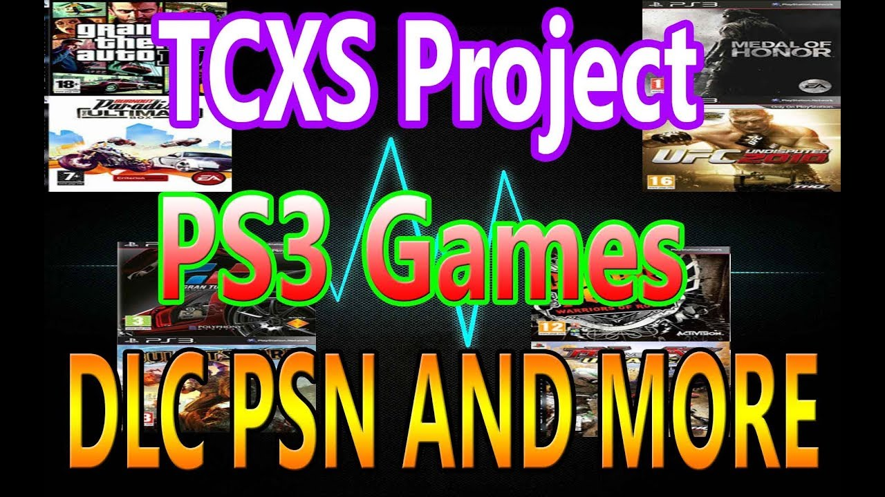 How To Install TCXS Project On Any HAN PS3