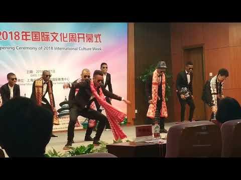 CEREMONY OF 2018 INTERNATIONAL CULTURE WEEK IN SHANGHAI UNIVERSITY OF TECHNOLOGY. STD COMOROS