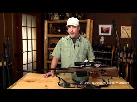 Benjamin Trail NP XL air rifle in .25 caliber - AGR episode 74