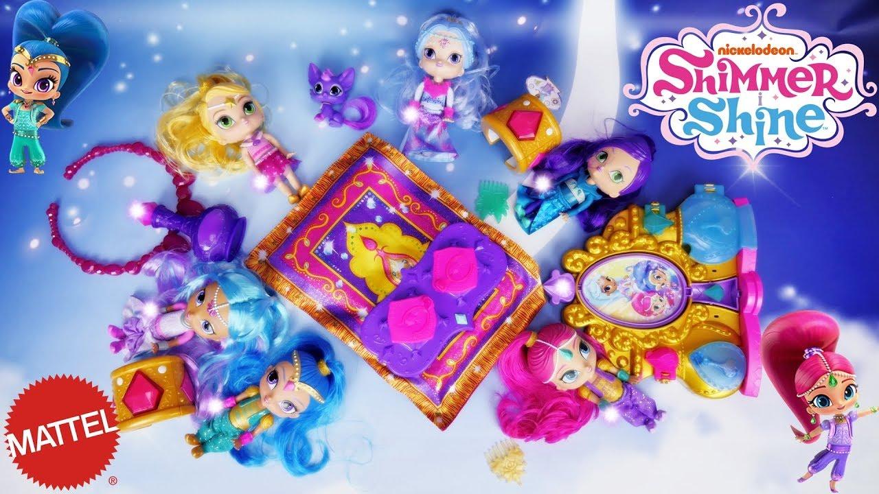 Marivobox 25 Shimmer I Shine Mój Dywan Lata Bajka Po Polsku Z Lalkami Mattel