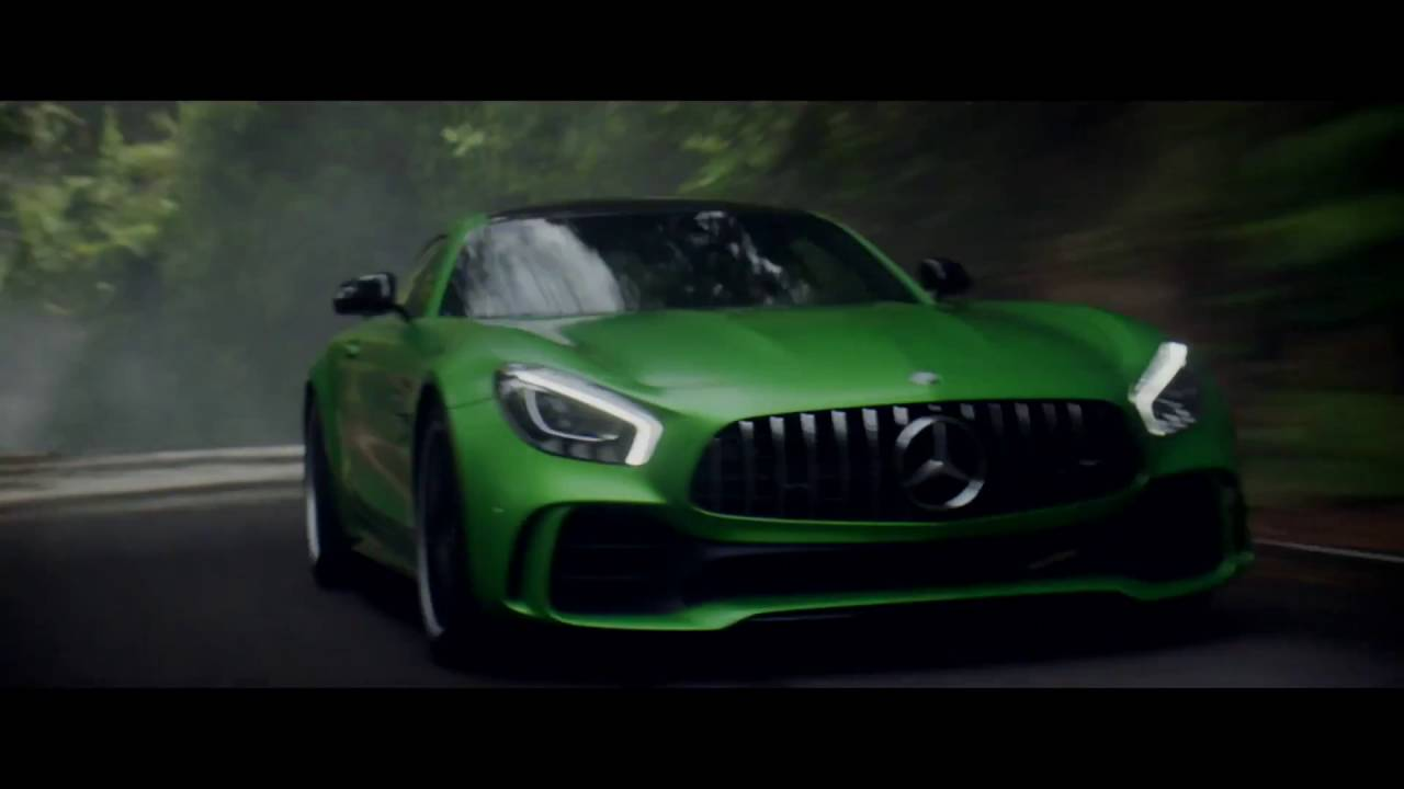 Mercedes Amg Gtr Beast Of The Green Hell Youtube