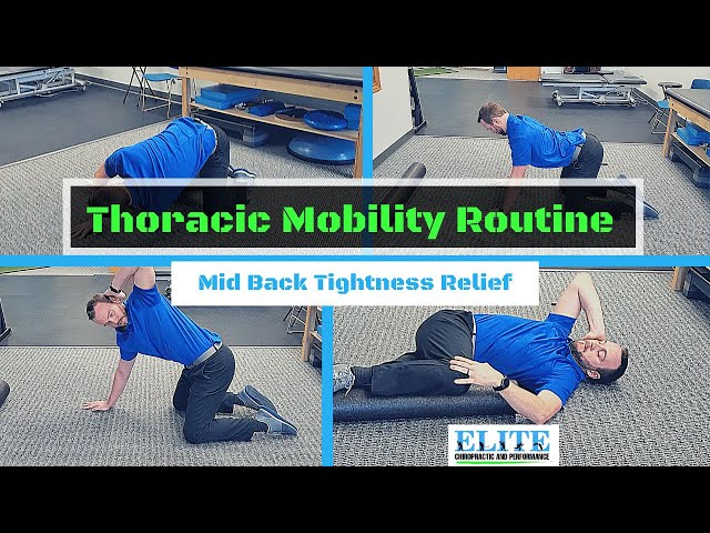 Thoracic Mobility Routine | Mid Back Pain Relief