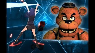 [Beat Saber] Die In A Fire - The Living Tombstone - FNAF3 Song (Feat. EileMonty & Orko) (EXPERT)