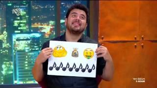 İbrahim ile Danilo; Tuvana, Ece ve Oğuzhan'a Karşı - Emojilerle Anlat | 3 Adam