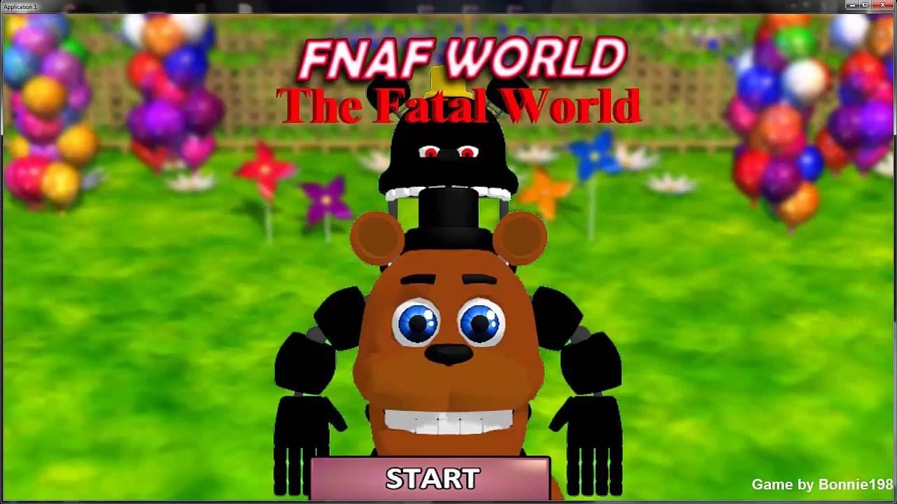 FNaF World:The Fatal World Demo