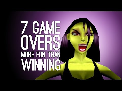 7 Times a Game Over was More Fun than Winning (Does This Make Us Bad People?)