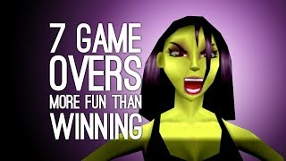 One of Outside Xtra's most viewed videos: 7 Times a Game Over was More Fun than Winning (Does This Make Us Bad People?)
