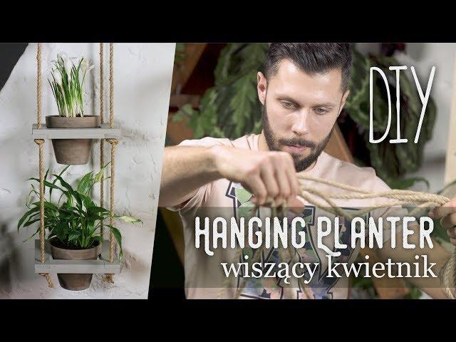Wisz?cy kwietnik // hanging planters // DIY // Zrób to z ogrodnikiem Tomkiem odc. 2