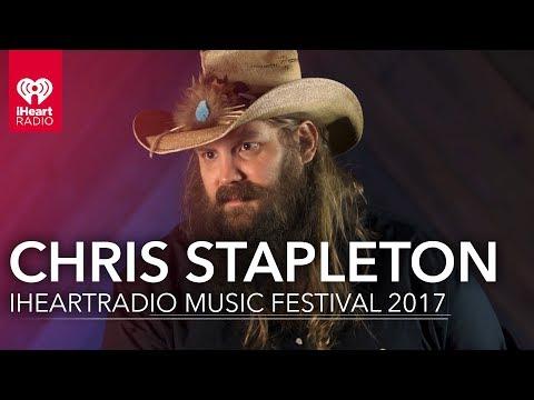 Chris Stapleton at the iHeartRadio Music Festival