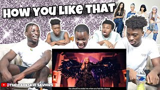 Gambar cover BLACKPINK - 'How You Like That' M/V (REACTION)