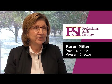 Professional Skills Institute Practical Nurse Program Director Karen Miller