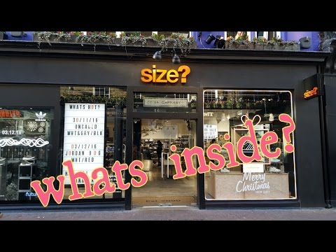 Sneaker Hunting at Size? London