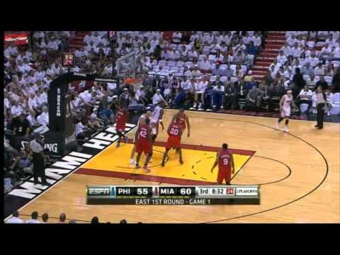 2011 NBA Playoffs First Round Game 1: Heat
