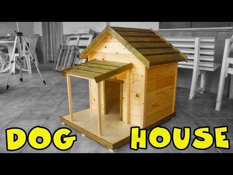 diy build your own dog house doovi. Black Bedroom Furniture Sets. Home Design Ideas