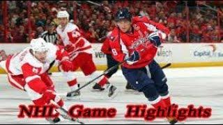 Washington Capitals vs Detroit Red Wings - 11.12. NHL Highlights Season 2018-2019