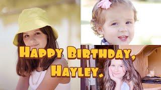Happy 12th Birthday, Hayley LeBlanc.