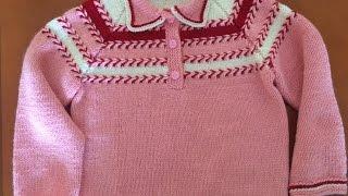 как сделать расчеты на детский свитер