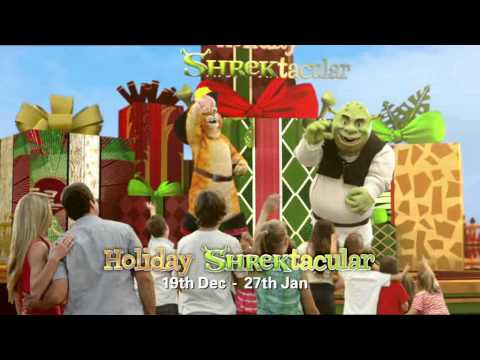Dreamworld's Holiday Shrektacular Show