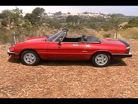Hqdefault on Alfa Romeo Spider 1988