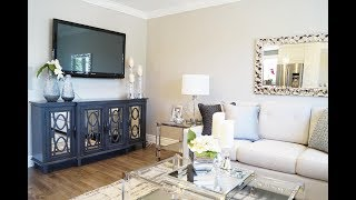 Living Dining Makeover - Kimmberly Capone Interior Design