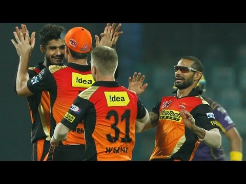IPL 2016 | Eliminator | Sunrisers Hyderabad vs Kolkata Knight Riders | SRH Beat KKR By 22 Runs
