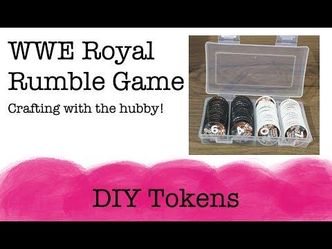 DIY Tokens | WWE Royal Rumble Game