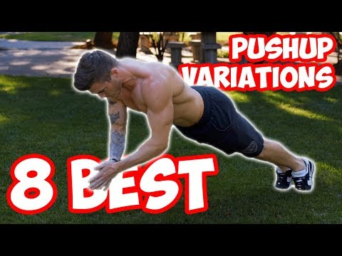 8 Best Push-Up Variations (TRY THESE!)