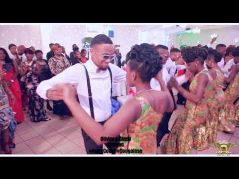 Ivory Coast and Congolese Choreography Wedding