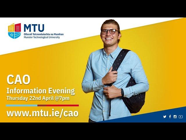 MTU CAO Information Evening 2021