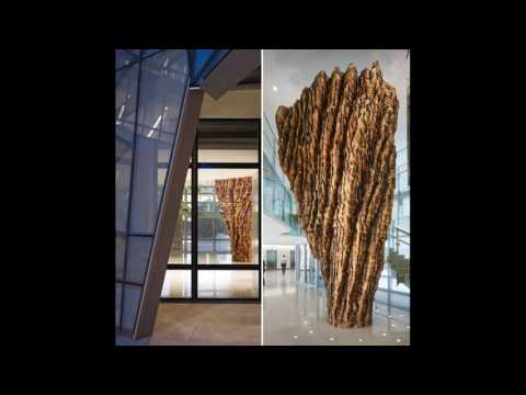 Massive Cedar Sculpture Sent A Dozen FBI Workers To The Hospital