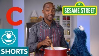 Sesame Street: C is for Cooking with Anthony Mackie