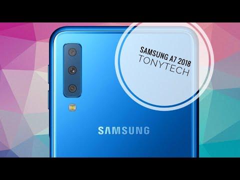 Samsung A7 2018 - Lecteur d'empreintes lat茅ral et triple capteur photo !