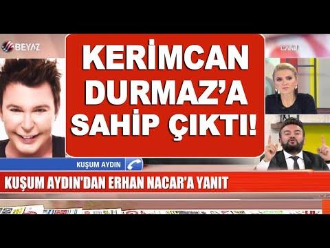 Erhan Nacar ile Kuşum Aydın canlı yayında kapıştı