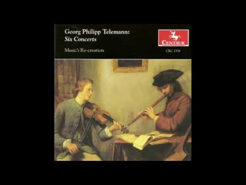 G.P. Telemann: Six Concerts. Concerto in D major, Allegro. TWV 42:D6:II