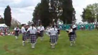 UMW Eagle Pipe Band competition set Southern Maryland