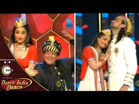 MASTERS as MUGHAL - Dada, Mudassar, Feroz and Shruti - Dance India Dance Season 4