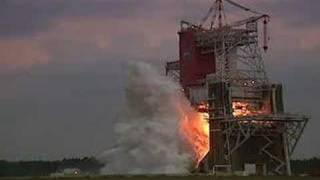 RS-68 Rocket Engine Live fire test