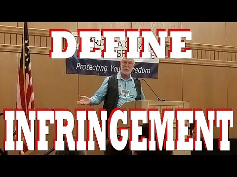 Legal Definition of Infringement?