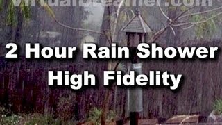 Rain Sounds : 2 Hour Long Sound of Raining - Sleep Sounds