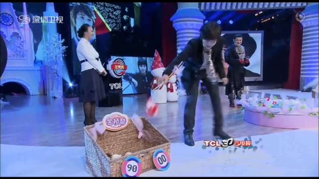 2012 12 28 Kim Jeong Hoon on The Generation Show (China TV program