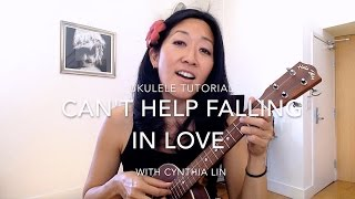 Can't Help Falling in Love - fingerpicking  // Ukulele Tutorial